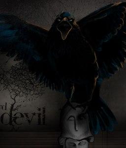 Evil Raven, Cynthia Khourne, PD Image
