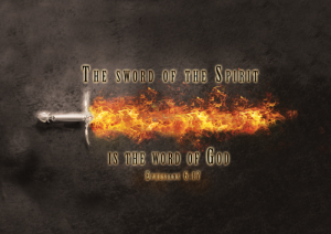 The Sword of the Spirit, PD Image