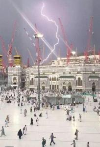 Mecca Hajj to Ka'aba, Struck on 9/11/15 (