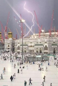 Mecca Hajj to Ka'aba, Struck on 9/11/15 (