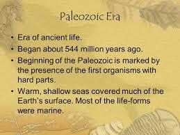 Paleozoic Points, PDI