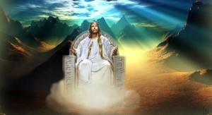 Impression of Messiah's Sabbath Throne, PDI