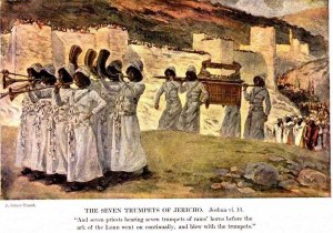 Joshua, Priests with Ark, and Soldiers, PDI