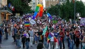 Annual Gay (Sodomite) Parade in Jerusalem, PDI