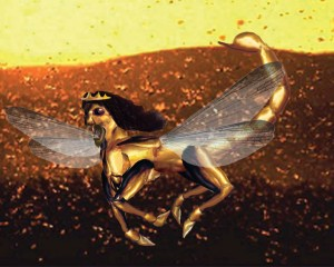 Artist Depiction of Revelation Locust Army, PDI