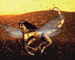 Artist Depiction of Revelation Locust Army, PDI