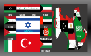 Israel Surrounded By The Colors Of Horsemen, Image Mine