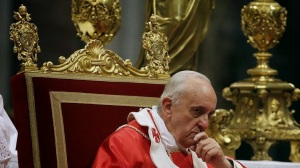 "Jorge Mario Bergoglio in the ""Seat of Peter"" PDI"