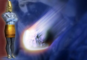 Impression of Yeshua as the Rock From God, PDI