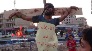 ISIS MURDERS AND DISPLAYS DEAD IN SYRIA, CNN IMAGE