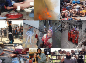 Islamic State In Syria (ISIS) Slaughtering In For Their Religion, PDI