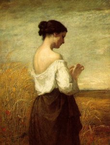 Peasant Girl, William Morris Hunt (Leah)
