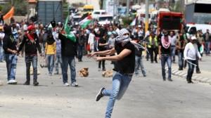 Riotous Palestinians Muslims