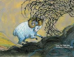 Ram in thicket