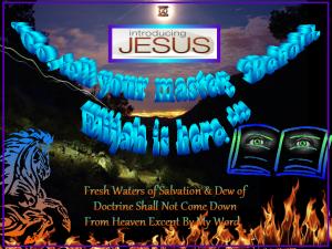 Prophet Elijah is Here